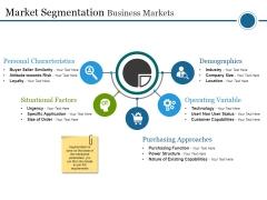 Market Segmentation Business Markets Ppt PowerPoint Presentation Pictures Graphics Tutorials