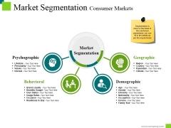 Market Segmentation Consumer Markets Ppt PowerPoint Presentation Visual Aids Show