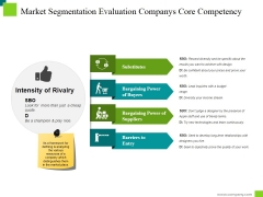 Market Segmentation Evaluation Companys Core Competency Template 2 Ppt PowerPoint Presentation Ideas Slideshow