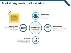 Market Segmentation Evaluation Leadership Ppt Powerpoint Presentation Summary Styles