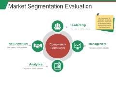 Market Segmentation Evaluation Template 1 Ppt PowerPoint Presentation Summary Smartart