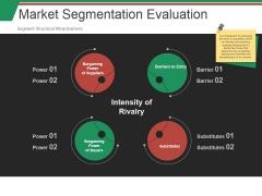 Market Segmentation Evaluation Template Ppt PowerPoint Presentation Slides Display