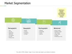 Market Segmentation Geographical Ppt PowerPoint Presentation Layouts Layout