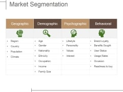 Market Segmentation Ppt PowerPoint Presentation Gallery Outfit