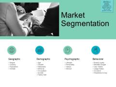 Market Segmentation Psychographic Ppt PowerPoint Presentation Gallery Graphics Download