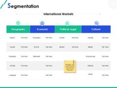 Market Segmentation Segmentation Climate Ppt Show Elements PDF