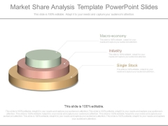 Market Share Analysis Template Powerpoint Slides