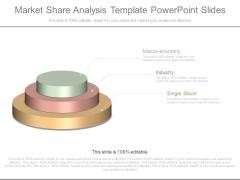 Market Share Analysis Template Powerpoint Slides