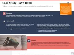 Market Share By Category Case Study XYZ Bank Ppt Summary File Formats PDF