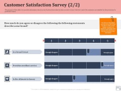 Market Share By Category Customer Satisfaction Survey Trust Ppt Icon Images PDF