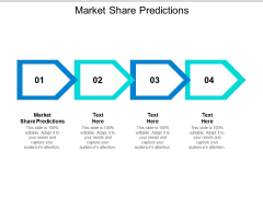 Market Share Predictions Ppt PowerPoint Presentation Styles Example Topics Cpb
