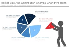 Market Size And Contribution Analysis Chart Ppt Ideas
