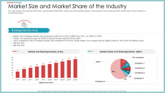 Market Size And Market Share Of The Industry Ppt Portfolio Example Topics PDF