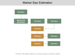 Market Size Estimation Ppt PowerPoint Presentation File Objects Cpb