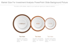Market Size For Investment Analysis Powerpoint Slide Background Picture