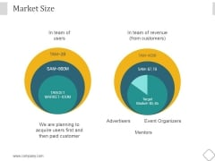 Market Size Ppt PowerPoint Presentation Images