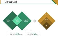 Market Size Ppt PowerPoint Presentation Show Designs