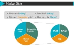 Market Size Ppt Powerpoint Presentation Slides Icons