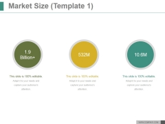 Market Size Template 1 Ppt PowerPoint Presentation Introduction