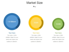 Market Size Template 1 Ppt PowerPoint Presentation Shapes