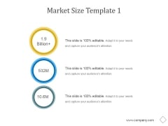 Market Size Template 1 Ppt PowerPoint Presentation Slides