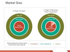Market Size Template 2 Ppt PowerPoint Presentation Inspiration Designs Download