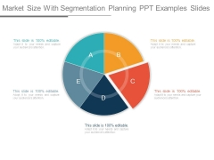 Market Size With Segmentation Planning Ppt Examples Slides