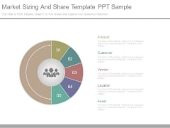 Market Sizing And Share Template Ppt Sample