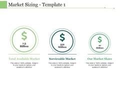 Market Sizing Template 1 Ppt PowerPoint Presentation Infographics Diagrams