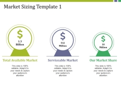 Market Sizing Template 1 Ppt PowerPoint Presentation Infographics Examples