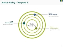 Market Sizing Template 2 Ppt PowerPoint Presentation Infographic Template Master Slide