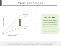 Market Strategy Gap Analysis Ppt Slides