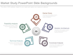 Market Study Powerpoint Slide Backgrounds