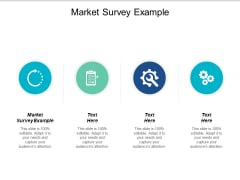 Market Survey Example Ppt PowerPoint Presentation Summary Graphics Design Cpb