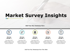 Market Survey Insights Strategy Ppt PowerPoint Presentation Icon Diagrams