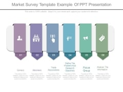 Market Survey Template Example Of Ppt Presentation