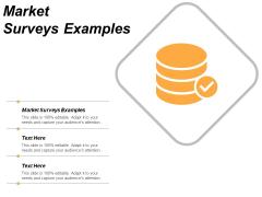 Market Surveys Examples Ppt PowerPoint Presentation Portfolio