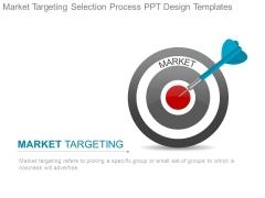 Market Targeting Selection Process Ppt Design Templates