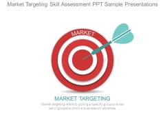 Market Targeting Skill Assessment Ppt Sample Presentations