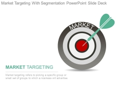 Market Targeting With Segmentation Powerpoint Slide Deck