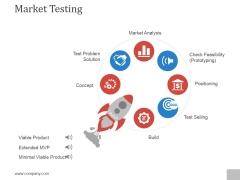 Market Testing Ppt PowerPoint Presentation Deck