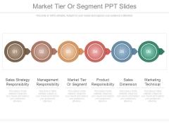 Market Tier Or Segment Ppt Slides