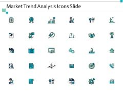 Market Trend Analysis Icons Slide Ppt Powerpoint Presentation Model Influencers