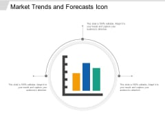 Market Trends And Forecasts Icon Ppt PowerPoint Presentation Professional Topics