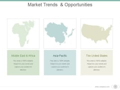 Market Trends And Opportunities Ppt PowerPoint Presentation Background Images