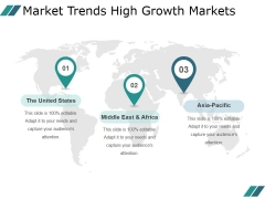Market Trends High Growth Markets Ppt PowerPoint Presentation Microsoft