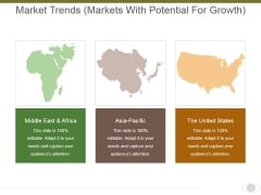 Market Trends Markets With Potential For Growth Ppt PowerPoint Presentation Layouts Background Images