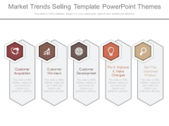 Market Trends Selling Template Powerpoint Themes