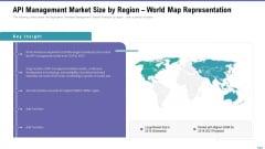 Market Viewpoint Application Programming Interface Governance API Management Market Size By Region World Map Representation Ideas PDF