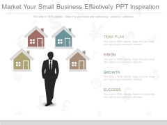 Market Your Small Business Effectively Ppt Inspiration